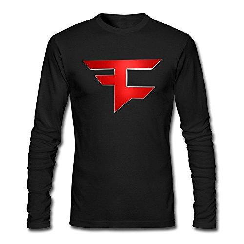 fbb5209025c7 Slim Fit Men's Faze Clan Logo Cool T-Shirt Small