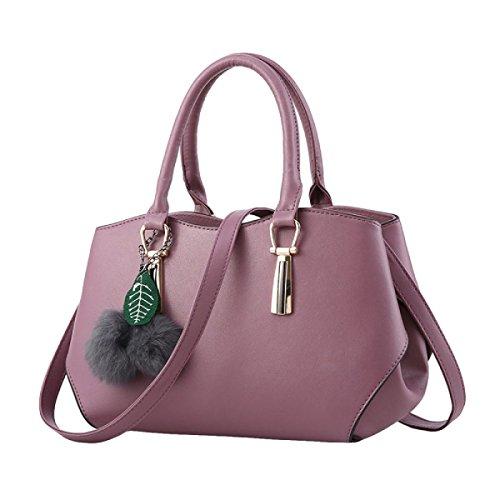 Handtaschen Elegante Handtaschenschulter Kurierbeutelart Und Weisefreizeit Purple