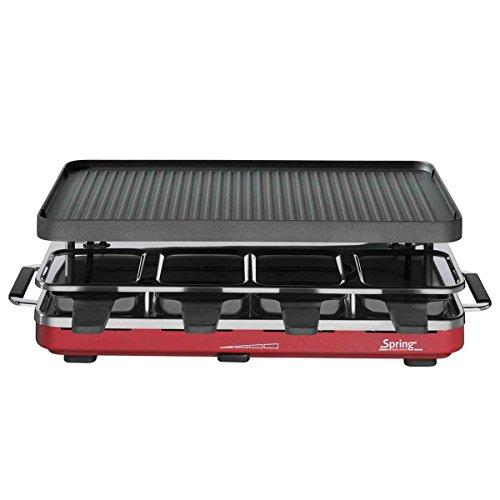Raclette8 alu grillplaat - rood Spring 3267513001 Raclette8