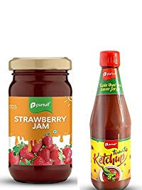 Pursuit Strawberry Jam and Tomato Ketchup Combo Set