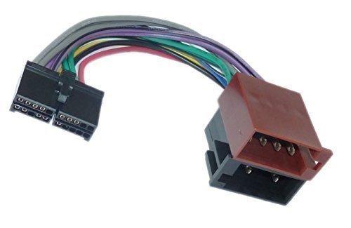 Clatronic AEG DIN ISO Auto Radio Adapter Kabel Stecker Audiovox Auto-adapter