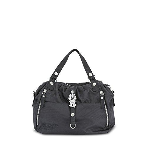 George Gina & Lucy Basic Nylon Cotton Candy Bolso negro