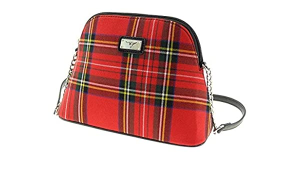 Ladies Small Shoulder Bag Scottish Royal Stewart Tartan  Amazon.co.uk   Shoes   Bags a9d7e2e732311
