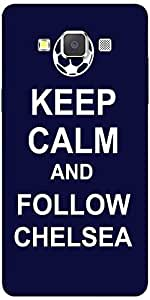 Snoogg Keep Calm And Follow Chelsea Solid Snap On - Back Cover All Around Pro...