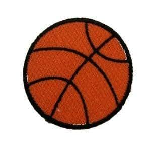 Ecusson brodé Ecussons Thermocollants basket-ball
