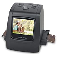 DIGITNOW! 22MP All-in-1 Film & Slide Scanner, Converts 35mm 135 110 126 and Super 8 Films/Slides/Negatives to Digital JPG Photos, Built-in 128MB Memory, 2.4 LCD Screen