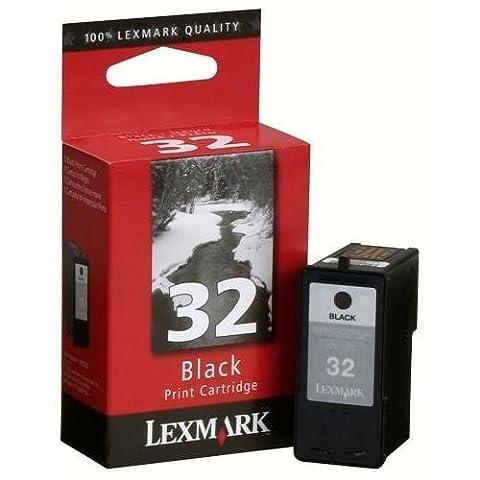 Lexmark Cartridge No. 32 - Print cartridge - high capacity - 1 x black - blister