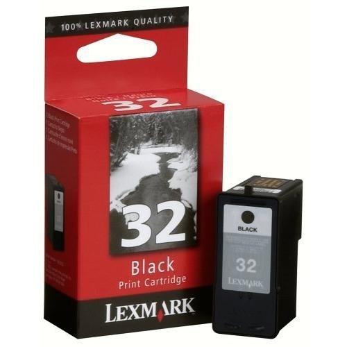 Lexmark Patrone Nr. 32–Druckerpatrone–High Capacity–1x Schwarz–Blister
