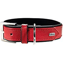 Hunter Capri Dog Collar, Large, Red