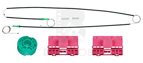 Original Bossmobil A6 (4B, C5),Vorne Links, manuell oder elektrisch, Fensterheber-Reparatursatz