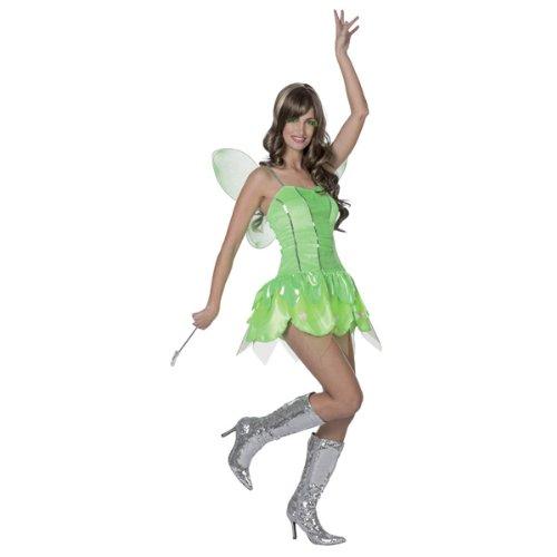 NEU Damen-Kostüm Sexy Fee, grün Gr. 36