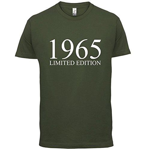 1965 Limierte Auflage / Limited Edition - 52. Geburtstag - Herren T-Shirt - 13 Farben Olivgrün