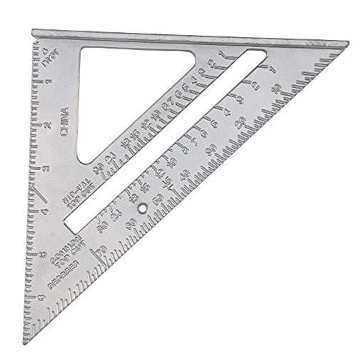 """Velocidad Cuadrado / Ofing / Viga Ángulo Triángulo Guía Rápido Métrico 7\"""" Aleación de Aluminio"""