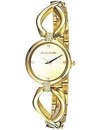 Pierre Cardin Mujer Reloj Esperance Acero Inoxidable Oro Acero Inoxidable Banda Oro analógico de cuarzo pc106972F05