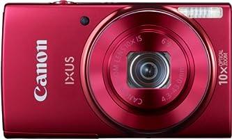 Canon IXUS 155 Digitalkamera (20 Megapixel, 10-fach opt. Zoom, 6,8 cm (2,6 Zoll) LCD-Display, HD-Ready) rot