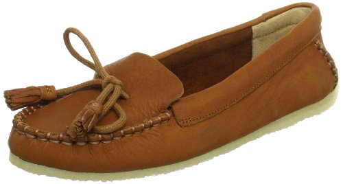 Clarks Sylvie Chic 20352781, Damen Slipper, Braun (Cognac Leather), EU 35.5