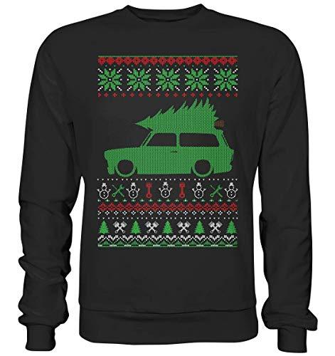 glstkrrn clothing Trabant 601 Kombi Ugly Christmas Sweater