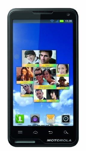 Motorola GmbH Motorola Motoluxe Smartphone (10,2 cm (4 Zoll) FWVGA-Touchscreen, 8 Megapixel Kamera, WiFi, Android 2.3) schwarz