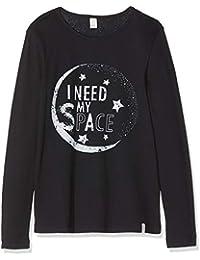 Amazon.fr   Noir - T-shirts à manches longues   T-shirts, tops et ... 09cae349cab