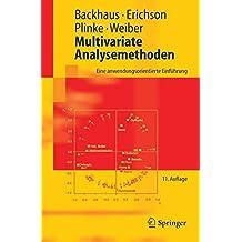 Multivariate Analysemethoden: Eine anwendungsorientierte Einführung: Eine Anwendungsorientierte Einfuhrung (Springer-Lehrbuch)
