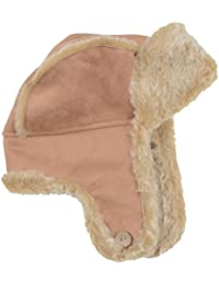 355954dd4f5 Ladies Camel Trapper Hat Faux Sheepskin Faux Fur Trim   Lining Winter  Accessory
