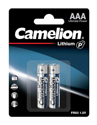 Camelion Lithium P7 19000203 batterie (FR03, AAA, Micro, 2)