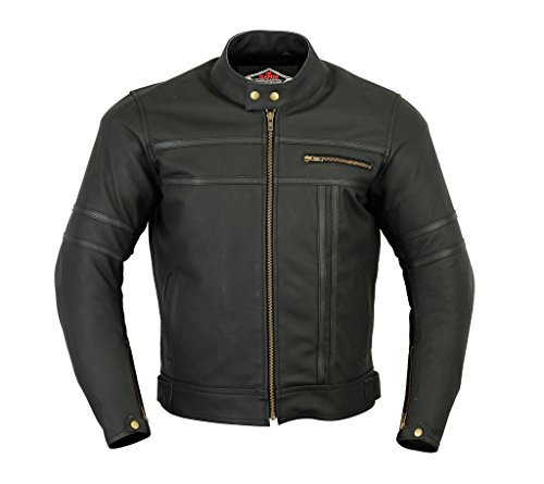 *Texpeed Two Tone Leather Racing Jacket*