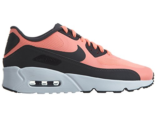 Nike Air Max 90 Ultra 2.0 (GS) Kinder Sneaker Rot (Lava Glow/White/Anthracite)