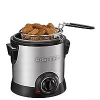 Chefman RJ07-M-SS Fry Guy Deep Fryer, Silver