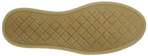 Bianco Chunky Plim Shoe Jfm17, Chaussures à Lacets Femme Beige sable