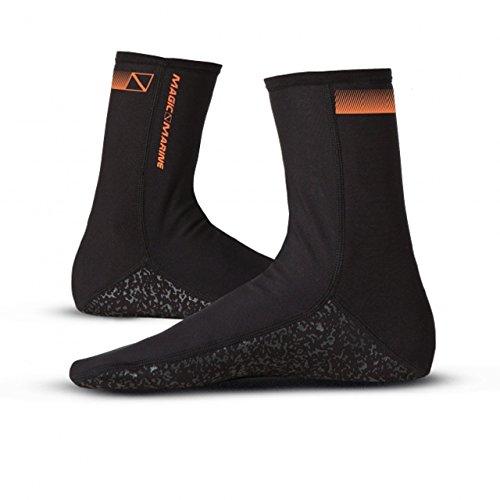 Magic Marine Bipoly Socks - Dünne Wärmende Fleece Lycra Socken, Größe:M