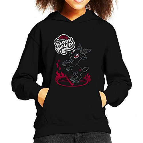 Cloud City 7 The Witch My Little Black Phillip Pony Mix Kid's Hooded Sweatshirt