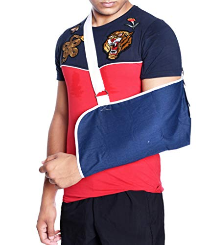 IRIS Orthopaedic Pouch Arm Sling, Reduces Fatigue, Adjust to Fit, Adult, Mild Support