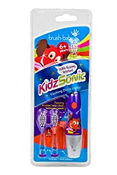 Brush Baby Kidzsonic Electric Toothbrush 6 Years + - Purple