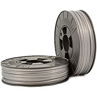 PLA 2,85mm silver ca. RAL 9006 0,75kg - 3D Filament Supplies