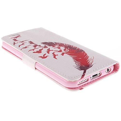 Nutbro [iPhone 6S] 6S Case,PU Leather iPhone 6S Case,iPhone 6S Phone Case,iPhone 6S Phone Cover Case PU Leather Case Wallet for iPhone 6S ZZ-iPhone6S-12