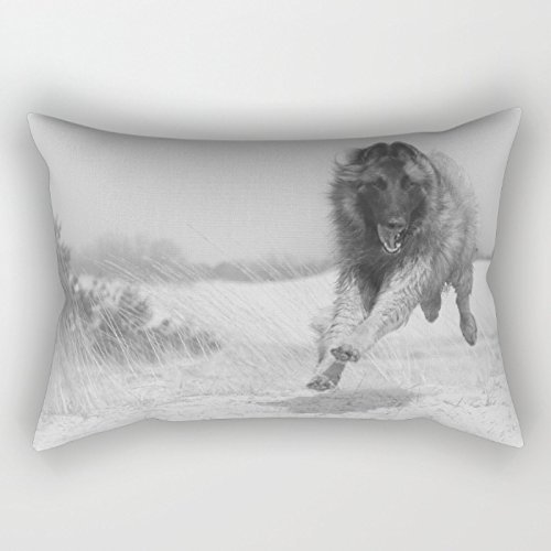 18 X 26 Inch / 45 By 65 Cm Dogs Pillow Cases,2 Sides Print Is Fit For Father's Day, House Moving Gift, Sofa, Easter, Washington's Birthday, Bedroom, Shop, Christmas, Dance, Home Office,