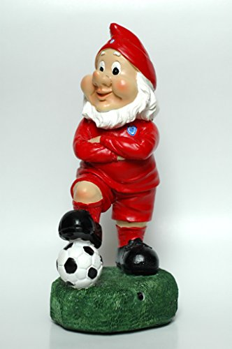 England Colours TALKING Football Gnome