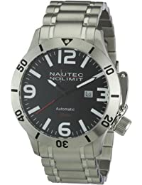 Nautec No Limit Herren-Armbanduhr Analog Automatik Canteen Diver CD AT/STSTSTBK