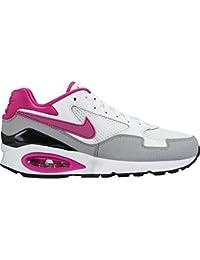 Nike Wmns Air Max St - Zapatillas de running para mujer, color blanco / gris / rosa / negro, talla 38