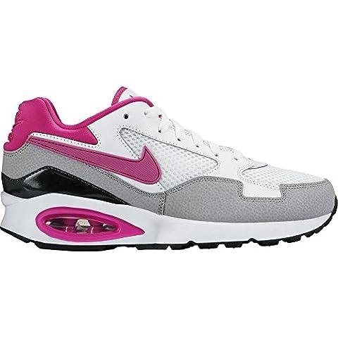Nike Wmns Air Max St - Zapatillas de running para mujer, color blanco / gris / rosa / negro, talla