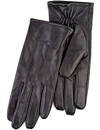 Totes Black Leather Gloves With Smart-Touch