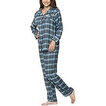 suchergebnis auf f r flanell pyjama damen. Black Bedroom Furniture Sets. Home Design Ideas