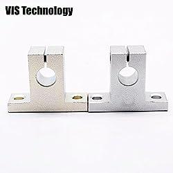 Generic 10pcs SK10 10mm Linear Rail Shaft End Support XYZ Table CNC parts 3D Printer Parts