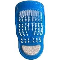 JASZHAO Fußscrubber Bürste Massager Dusche Saubere Blaue Pantoffeln Bad Massage Hausschuhe (Farbe: Blau) 2 Stück preisvergleich bei billige-tabletten.eu