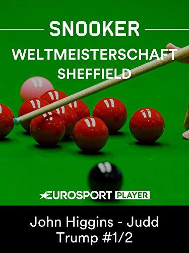 Snooker: Weltmeisterschaft in Sheffield (ENG) - Das Finale (Best of 35)