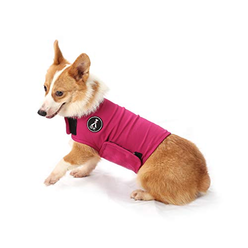 2x Pet Dog Anxiety Thunder Coat Wrap Jacket Shirt Vest for All Sizes Dogs