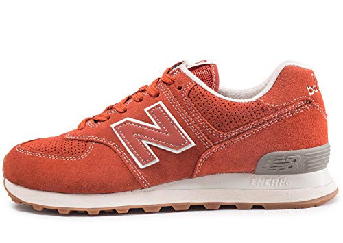 New Balance ML574, Schuh fur Herren 40 Vintage Russet Orange
