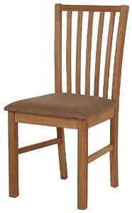 abc home chaise de table style scandinave bois naturel. Black Bedroom Furniture Sets. Home Design Ideas