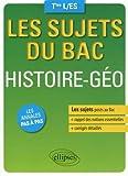 Les Sujets du Bac Histoire Géo Terminales L/ES